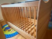 Kinderbett Leni 70x140 aus massivem