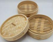Reishunger Dampfgarer Bambusdämpfer für asiatische