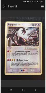SUCHE Pokemon Karte Rayquaza Goldstar