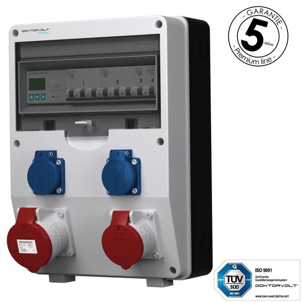 Stromverteiler LSS 1x32A 1x16A 2x230