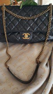 Original Chanel Timeless Leder Tasche
