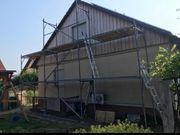 Maurer Maler Gerüst Fassadengerüst Baugerüst