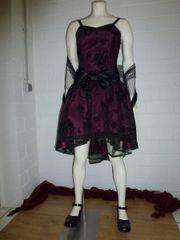 Corsagen-Kleid Größe S Bicolor Floral-animalische