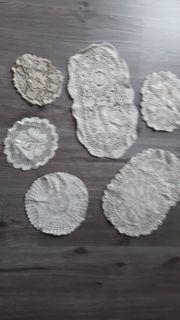 Deckchen verschiedene Größen