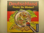 Deutschland - Finden Sie Minden Gesellschafstspiel