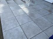 CeraSun 60x60x4 Terrassenplatten Keramik-Betonverbund neu