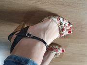 Damen Schuhe Gr 39 Sandaletten