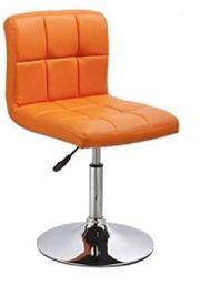 4er Set Esszimmerstuhl Orange aus