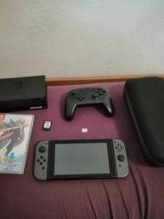 Nintendo Switch Grau neues Modell