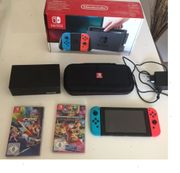Nintendo switch neon joy-cons
