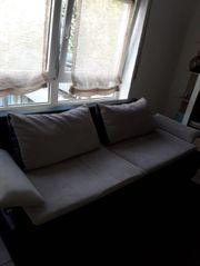 Boxspringsofa Couch mit Schlaffunktion