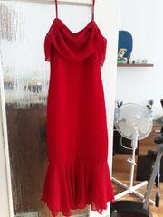 Festliche Kleid mit Glitzer
