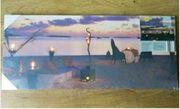 Verkaufe Leinwand Keilrahmenbild Sonnenuntergang Strand