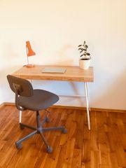 Schreibtisch Lillåsen aus Bambus von