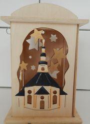 Weihnachtslaterne aus Holz - ca 16