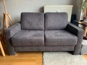 Sofa 2-Sitzer Grau Marke Carina