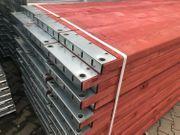 Holzboden Gerüst 162 qm 27x6 -