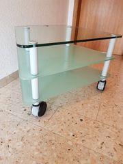 Glas TV Tisch