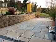 Pflaster - Terrasse- Gartenarbeit- Mauer- Gehwege-Zaun-