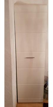 Kleiderschrank Weiß 1türig Haushaltauflösung