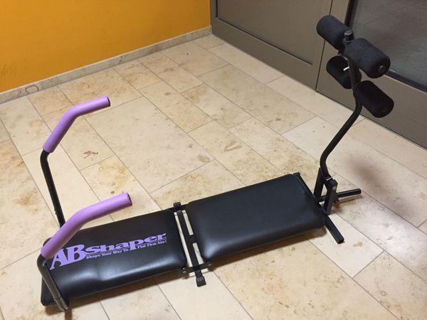 Fitnessbank, Sit-up-Trainer, Bauchtrainer, ABShaper