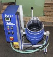 Tellerfliehkraftanlage Gleitschleifgerät OTEC CF5T