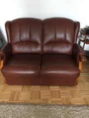 Sofas in Leder zu verkaufen