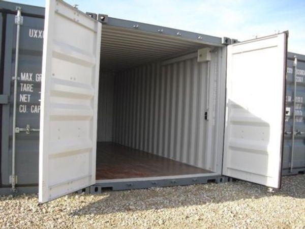 Lager-Garage-Container - mit Licht - Strom - Video - Dachau