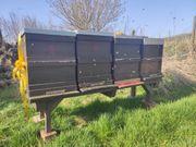 Bienenvölker auf Zandermaß mit Gesundheitszeugnis