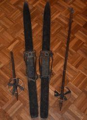 Alte Vintage Ski 100 cm