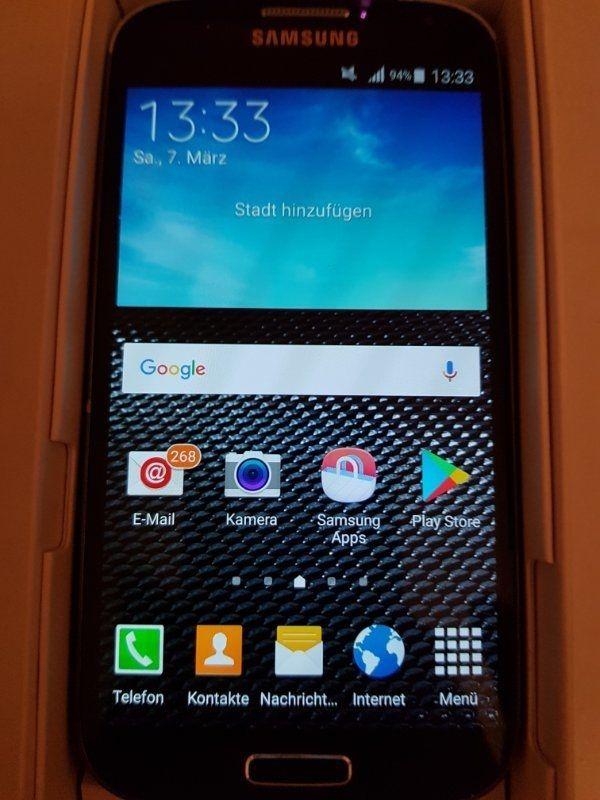 Handy Samsung Gebrauch, S4