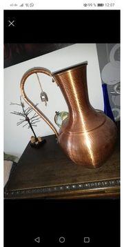 Moderne schöne grosse Kupfervase mit