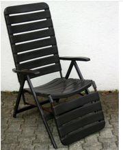 Relaxsessel Hochlehner Gartenstuhl Garten Balkon