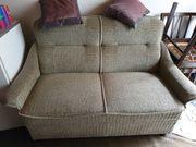 Wohnzimmer Couch Sessel zu verschenken