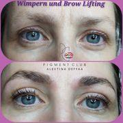 BrowLift Brow Lifting Augenbrauenlaminierung mit