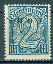 Deutsche Abstimmungsgebiete Oberschlesien Dienstmarke xx