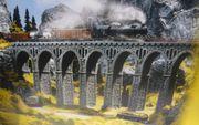 NOCH H0 58660 Bruchsteinviadukt Brücke