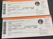 2 Tickets für ein Konzert