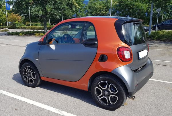 Smart fortwo 453 90PS Navi