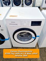 Siemens Waschmaschine IQ300 7kg 1400U