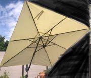 Sonnenschirm Pendelschirm sehr gut erhalten -