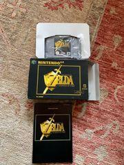 Nintendo 64 Zelda in OVP