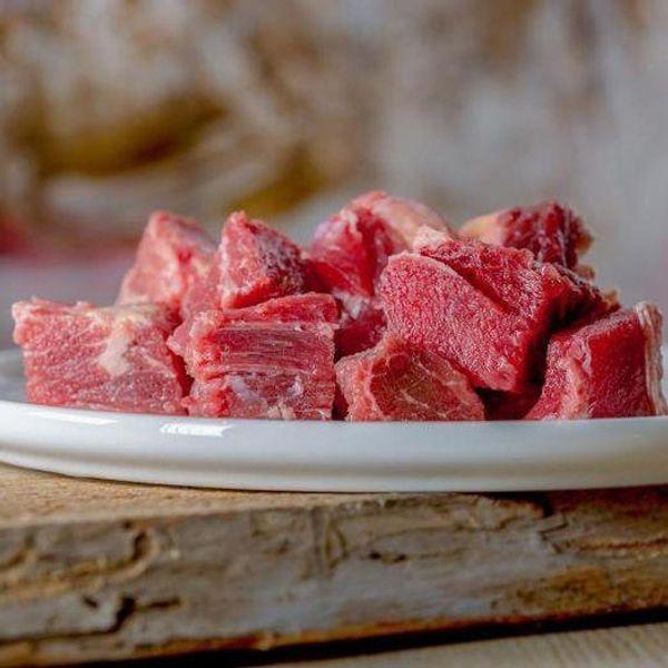 BARF - Rindfleischwürfel durchwachsen 1000g