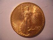 20 Dollars Gold Statue 1924