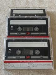 Fuji DR60 Kassetten 3 Stück