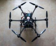 Hexacopter DROHNE Lagerräumung