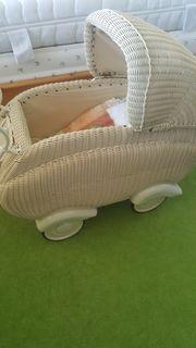 Puppenwagen antik Original 50er Jahre