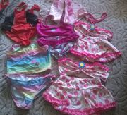 6 verschiedene Bikini Größe 104 -
