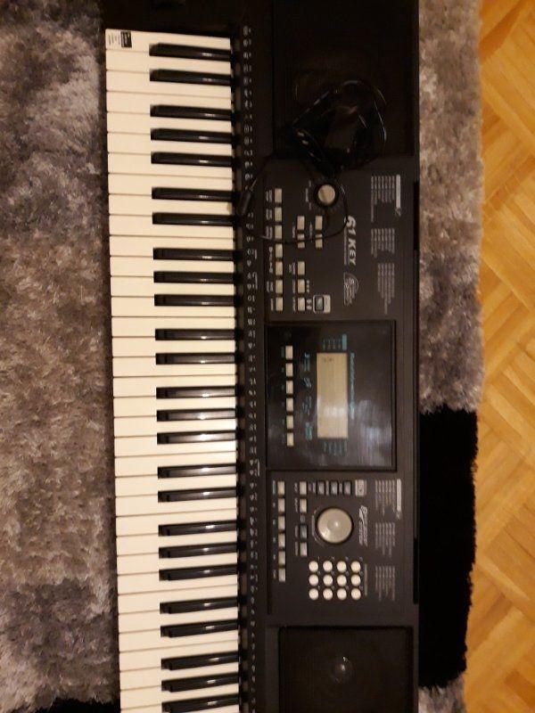 61 Electronic Keyboard 162 Tones