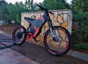 Elektrofahrrad Electric cross bike Qulbix
